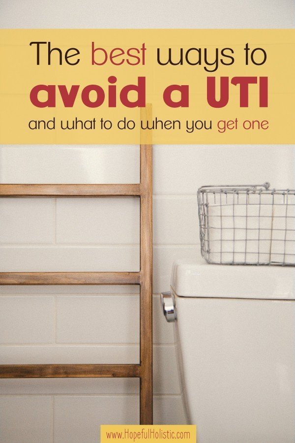 How to avoid and treat a UTI completely naturally and without antibiotics