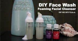 Learn how to make your own all-natural facial cleanser face wash and other DIY makeup recipes!