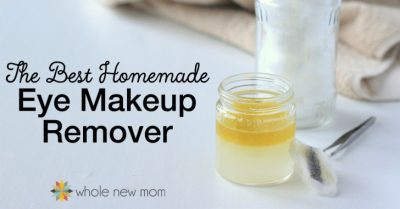 Learn how to make your own all-natural eye makeup remover and other DIY makeup recipes!