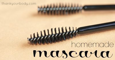 Learn how to make your own all-natural mascara and other DIY makeup recipes!