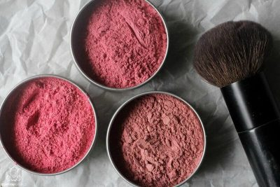 Learn how to make your own all-natural blush and other DIY makeup recipes!