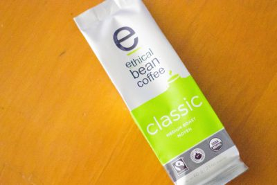 Ethical Bean Coffee from the Daily Goodie Box