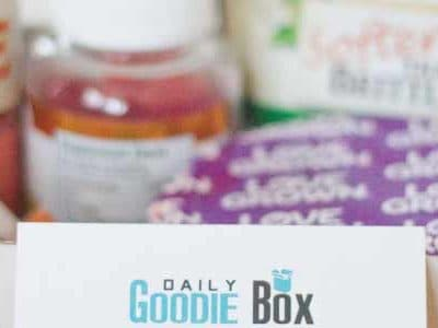 My Daily Goodie Box review- November