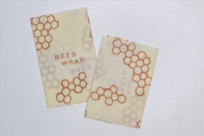 Bees wraps 2 beeswax wraps plastic wrap alternative